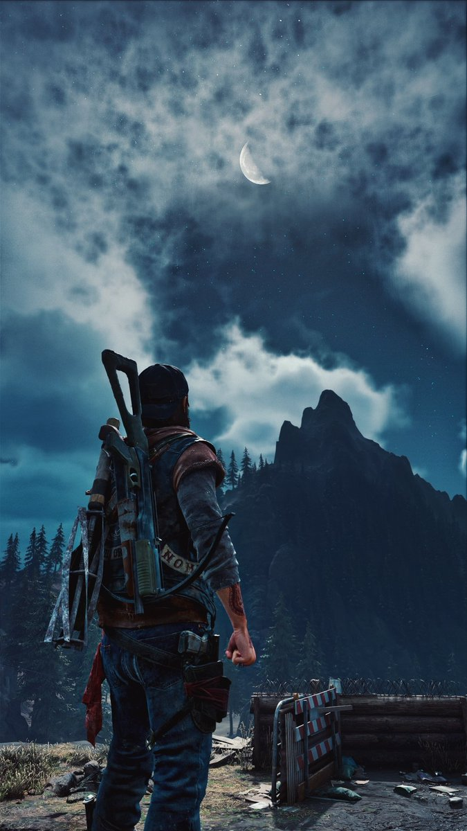 Mountains #TCCMountains #DaysGone #thecapturedcollective #virtualphotography #ps4share #ps4photomode #deaconstjohn #bendstudio @BendStudio #verticalphotography #mountains #moon #sky #beautiful #thephotomode #photomode #VGPUnite #gamergram #SocietyofVirtualPhotographers