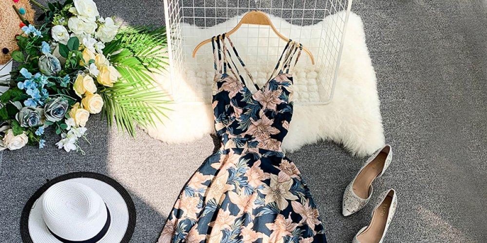 #fashion #style Women's Floral V Neck Sundress pic.twitter.com/sYkVNstMrh