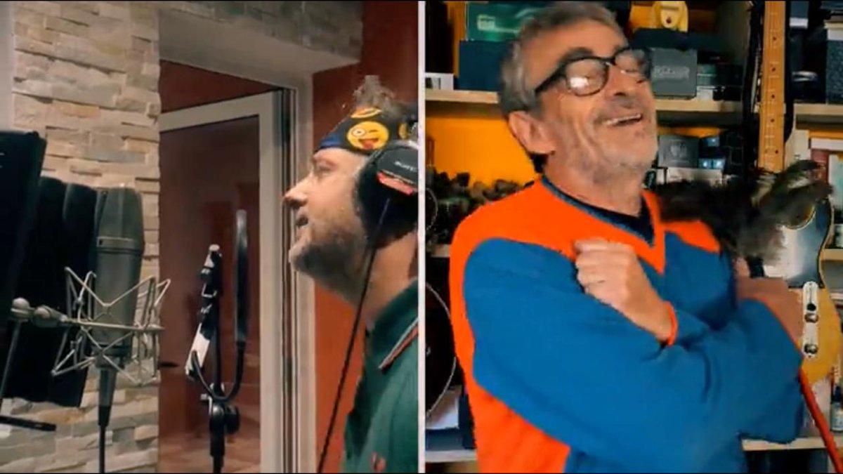 🎙[AHORA] ¡Arriba esa cuarentena con la música del Francéeeeees!  👉🏽@gastonbernardou & Jorge Serrano en #PerrosdelaCalle, por #Metro951 📻 https://www.metro951.com/vivo/player-ondemand.html?hash=pdc__el_frances__jorge_serrano_presentan_nuevo_tema_de_la_cuarentena…