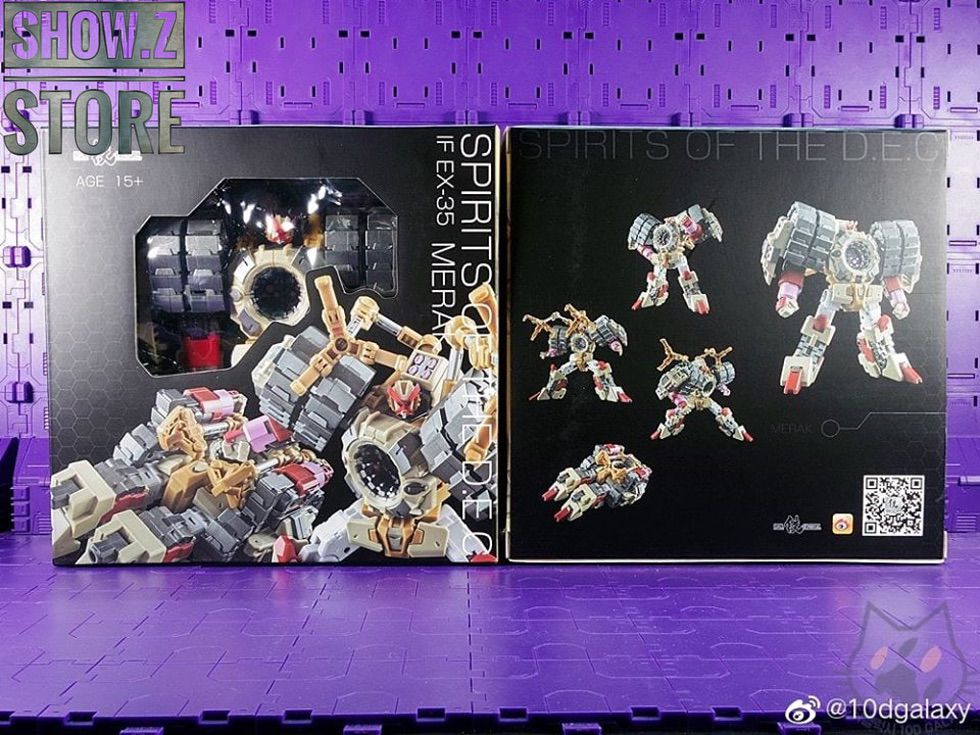 """New Transformers Iron Factory IF EX-34 Spirits of The /""""D.E.C/""""-Alkaid instock"""