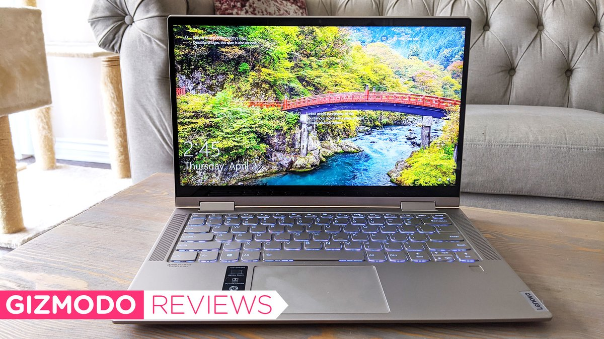 Lenovo's Yoga C740 is a damn good laptop for under $1,000