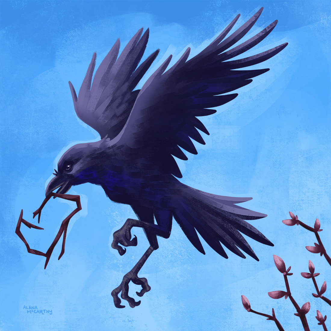 Crow couple in our area inspired me out of a creative slump. Read more https://soo.nr/p7Qe  #illustration #illustrator #painting #animalart #creative #bookart #bookcover #creativity #artbusiness  #freelanceillustrator #freelancer #freelancelife #creativedirector #artdirectorpic.twitter.com/GfJjpt6kcE