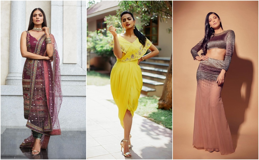 Best Dressed Actresses Of The Month! @shrutihaasan @ShraddhaSrinath @Aishwaryadutta6 @iam_aathmika @nikkigalrani @Rakulpreet @RaashiKhanna @tamannaahspeaks @aditiraohydari @MalavikaM_ #fashion #cinema #actress #Kollywood #celebrity  Read more: