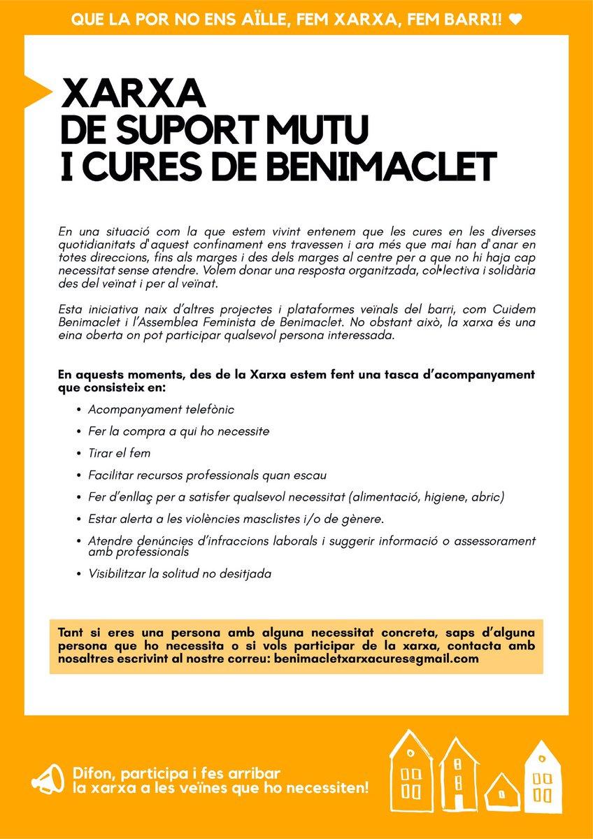 cuidamos Benimaclet (@cuidembeni) | Gorjeo