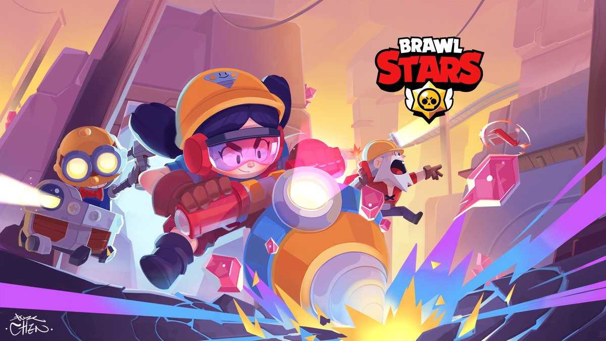 "Brawl Stars on Twitter: ""Here are some wallpapers of your favorite ..."