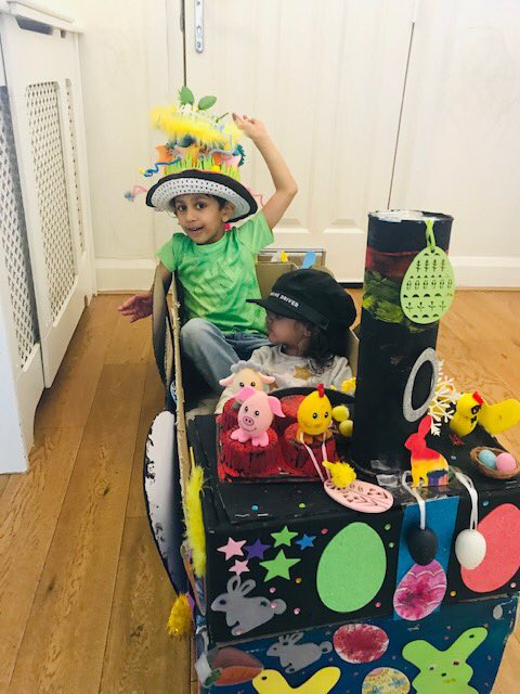 Wonderful work, Arjun. Arts and crafts seem to be very popular activities among families this Easter. So many brilliant creations being shared across #CognitaWay #EasterAtHome