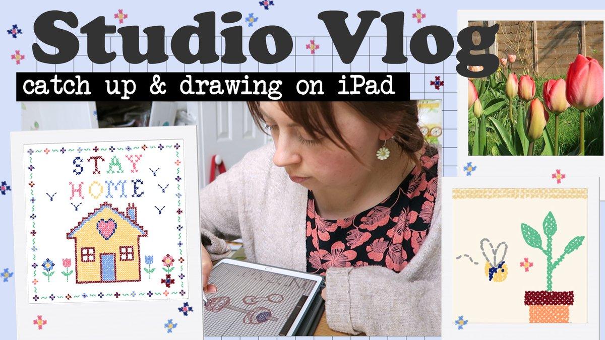 Just uploaded a new #studiovlog https://youtu.be/DffOxP7P1QM #artvlog #freelanceillustrator pic.twitter.com/jNkbdFCj27