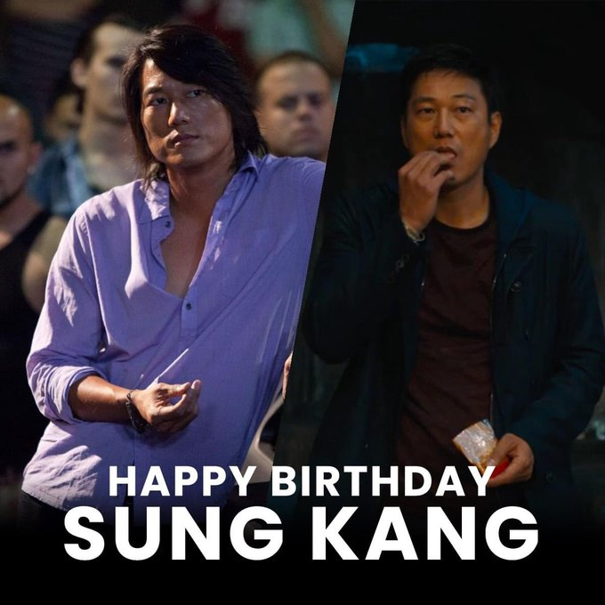 Happy Birthday Sung Kang! Can\t wait to see you back in