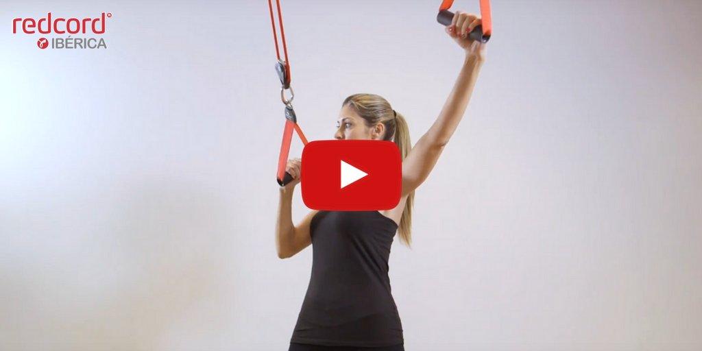 Entrena con #Redcord Active: Aprende cómo realizar Dominadas 🎥  #entrenamiento #gym