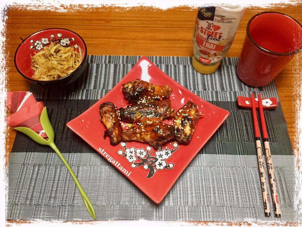 "Oggi nella mia cucina ho preparato il ""Chinese Chicken with Chinese Potato Stir-Fry""#NellaMiaCucina #RecipeOfTheDay #Food #recipe #ricette #ricettadelgiorno #Cooking #madeinhome #cheflife #IoRestoACasa #iorestoacasaecucino #8aprile #StayAtHome #WednesdayMorning #moodofthedaypic.twitter.com/XcaUNTujCe"