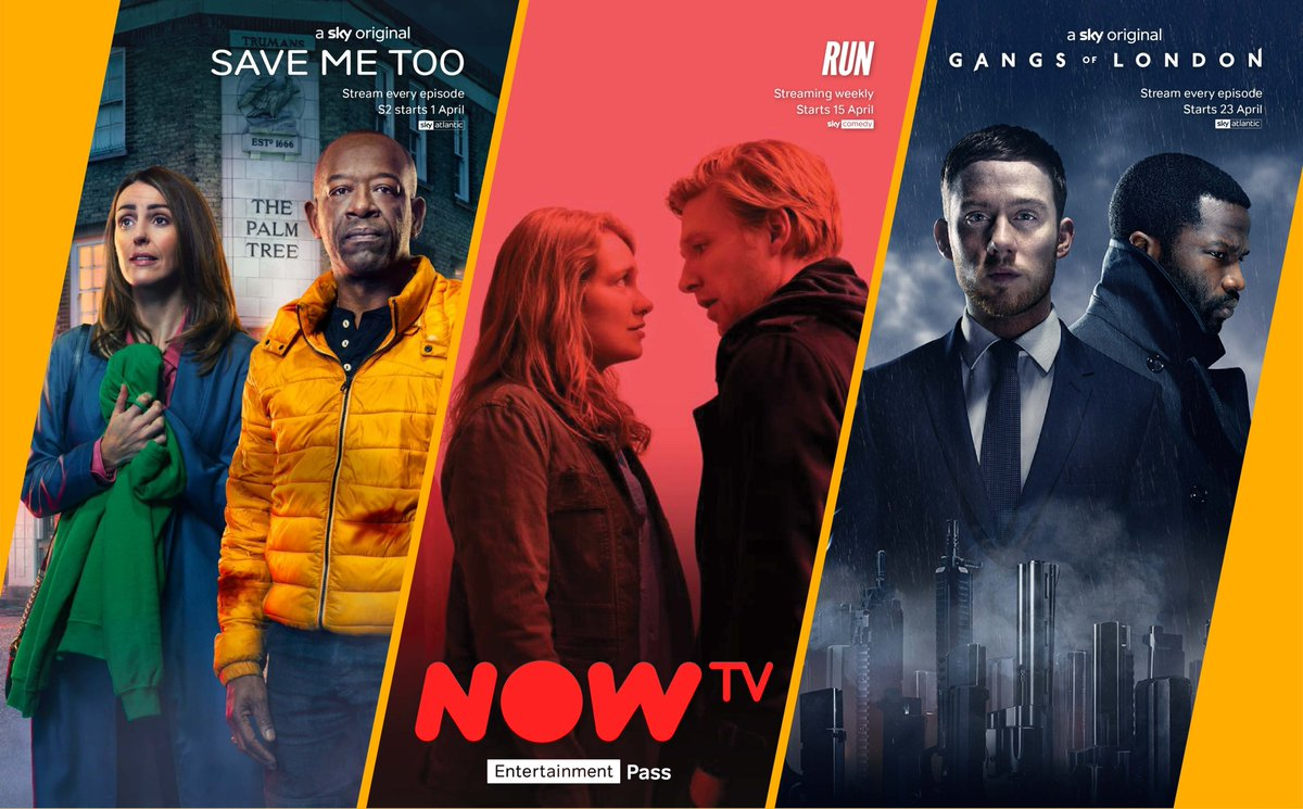 Check out these great shows coming to NOW TV this month!  For info on our Entertainment Pass check out the link below: