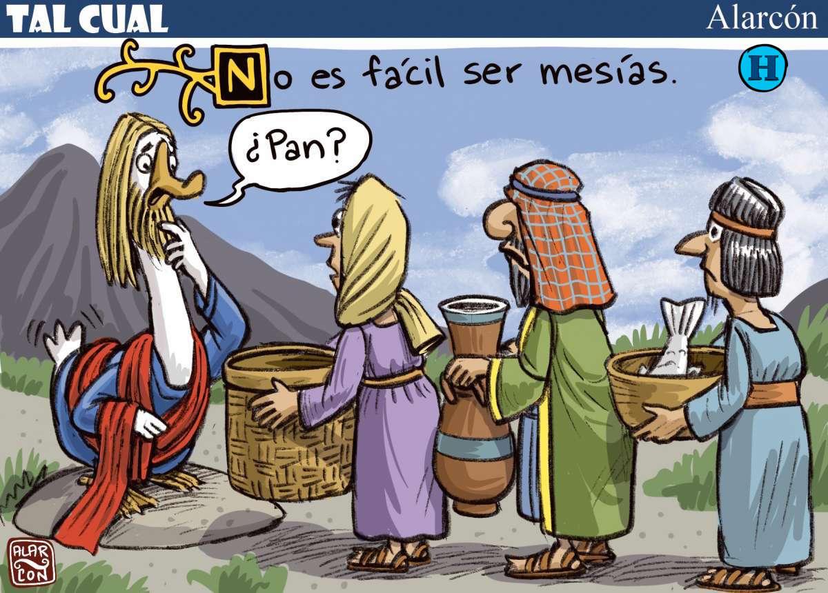 No es fácil ser Mesías