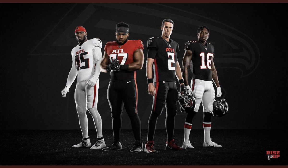 New Atlanta Falcons uniforms confirm they will not only play like an XFL team this season, but look like one too