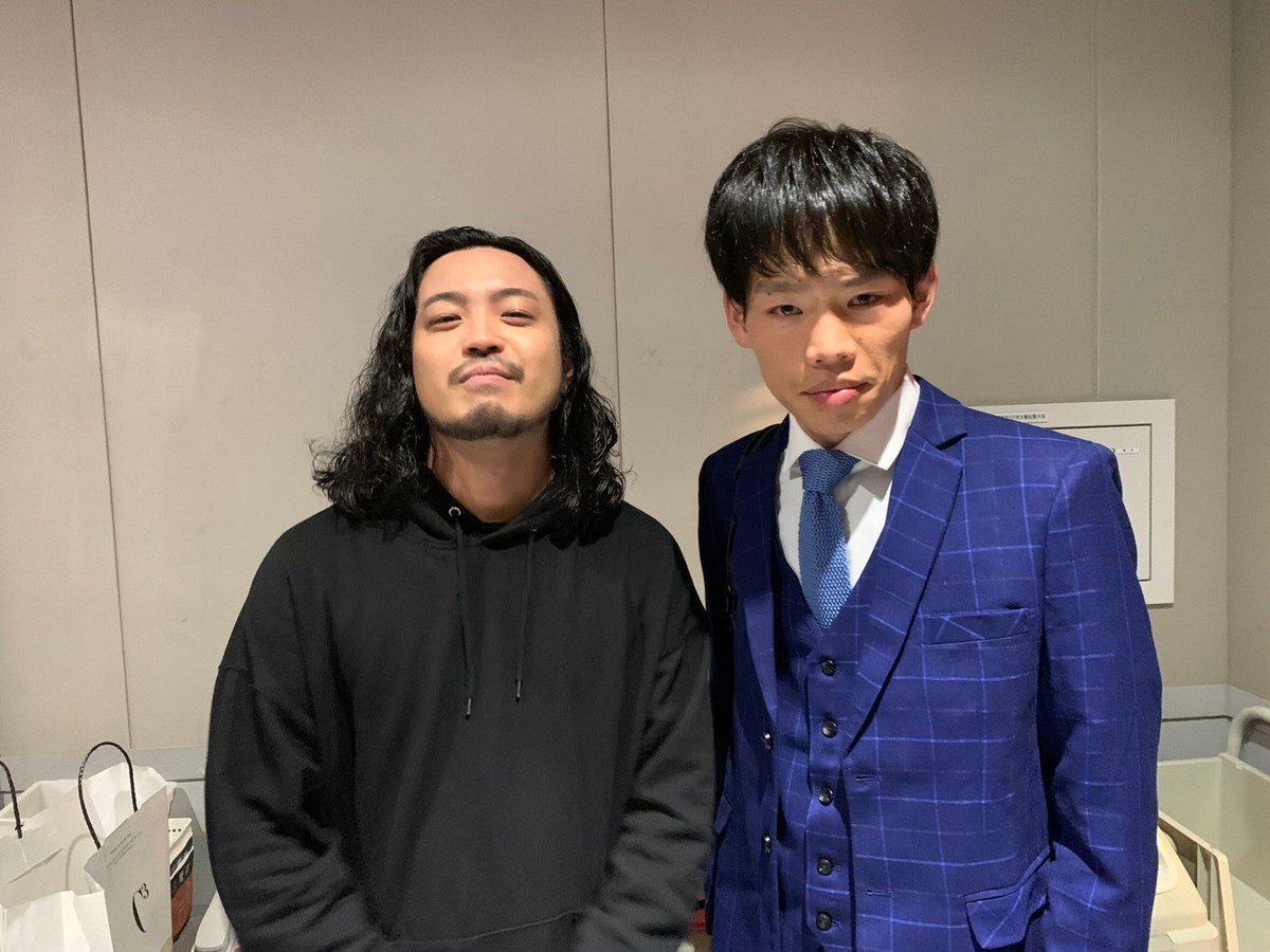 RT @kyurukyuruk: 壁まだみてないんですがこれだけ見ると松永というよりサツマカワすぎるな https://t.co/1cuqf5Qp9E