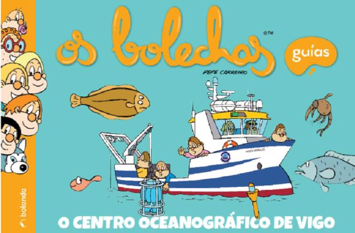 A Fundación Española para a Ciencia e a tecnoloxía ofrece un sinfín de iniciativas de divulgación para a #CienciaEnCasa coma o conto dos Os Bolechas no Instituto Oceanográfico de Vigo,🌊   @IEOoceanografia   #Descobre #InvestigacionMariña #Vigo