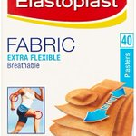 Image for the Tweet beginning: Elastoplast Fabric Plasters 40s -