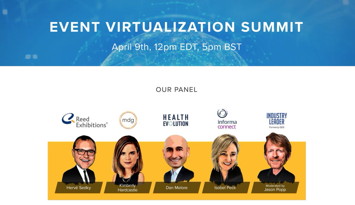 The #Event #Virtualization #Summit hosted by @LetsInGo  starts TOMORROW. #Register for free to learn about the #digital solutions used to #virtualize #conferences and connect with your audience. Will we see you there? https://www.ingo.me/event-virtualization-summit/home …