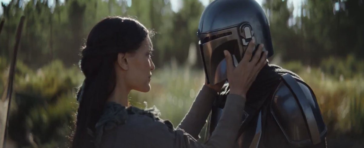 so am i going to see more omera in mandalorian's season 2 or should i throw any romantic expectations out the windowpic.twitter.com/FUGzPc911r