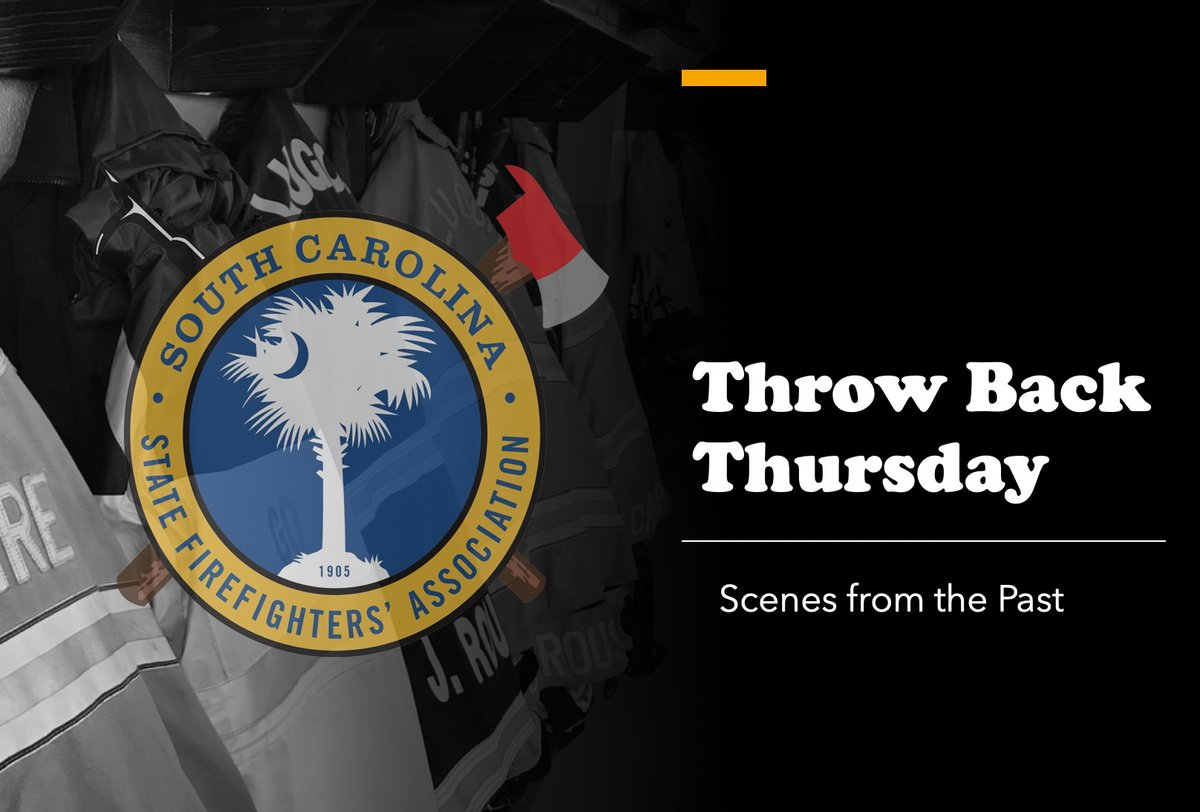 Join us Thursdays @ 10am for #ThrowbackThursday video sessions, as we share some great nuggets of knowledge from past speakers/instructors that we've hosted http://bit.ly/SCSFATBT3  #TBT #SCSFA #FireWire #ServingSCFirefightersSince1905 #firefighternews