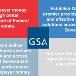 ☑️ GSA is dedicated to delivering effective and efficient government services to federal agencies and the American people.   ▶️ Learn more about us at https://t.co/Q6bxZkmaJy  #WhatWeDoWednesdays