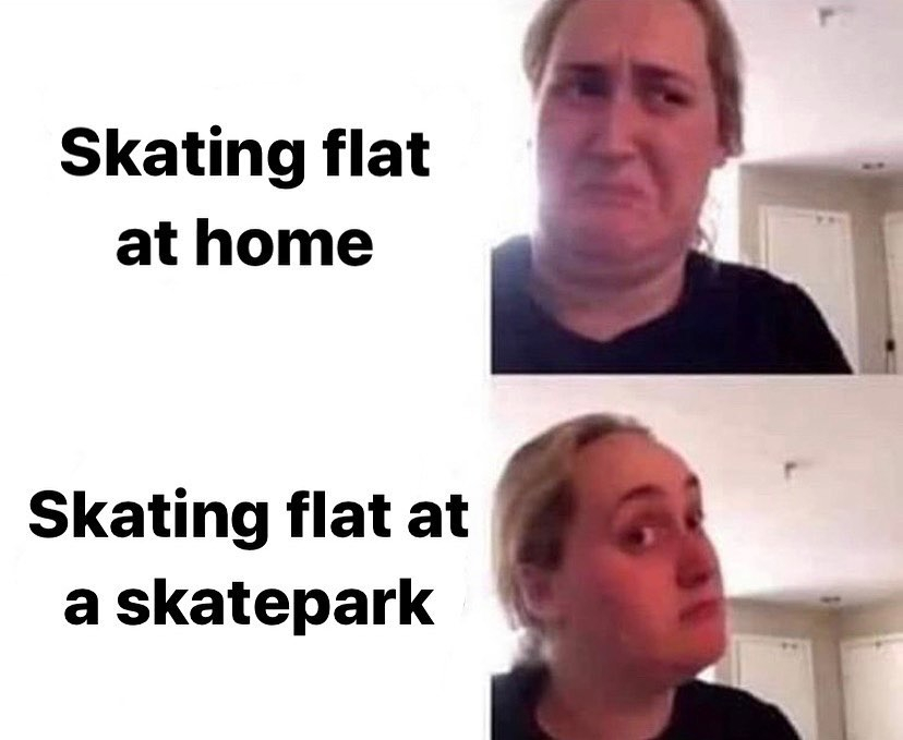Who can't wait to go to the skatepark again?  Follow @skateobsessed for the hottest skate memes and clips EVERY day  via @skatememes  #skatememes #skatermemes pic.twitter.com/O7yiCGQyRn