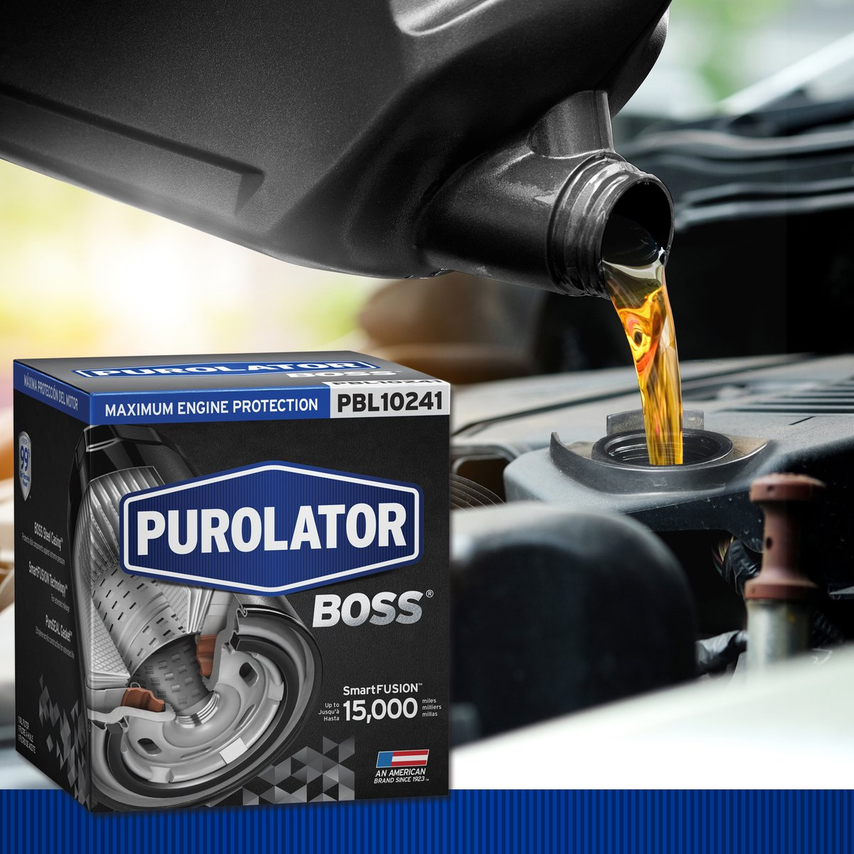 Save now on a PurolatorBOSS Premium Oil Filter paired with Castrol EDGE full synthetic motor oil at Advance Auto Parts. Filter + five quarts of oil = $33.99. #oilfilter https://t.co/GiPfbXu0eR https://t.co/6ozEXUOPeQ