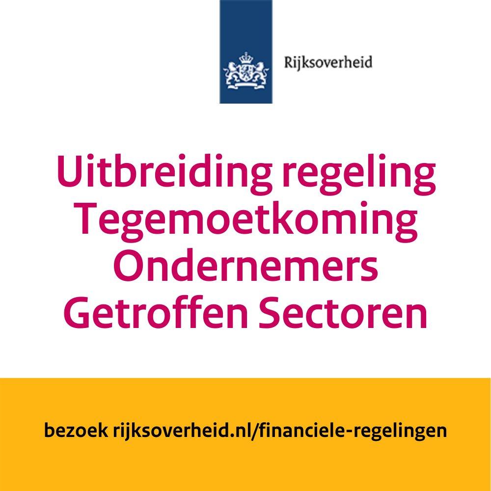 Vanaf 15 april is registreren voor de verruimde TOGS-regeling mogelijk. Ook voor de #landbouw, #tuinbouw en #visserij.   https://t.co/FRWnu4mc9c