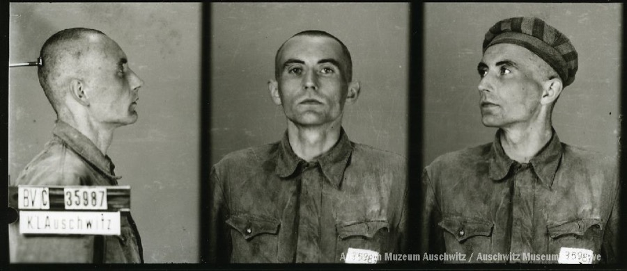 8 April 1912 | Czech Karel Vosoust was born in Prostějov. An electric welder.  In #Auschwitz from 20 May 1942 No. 35987 (criminal prisoner) He perished on 5 September 1942.pic.twitter.com/swyIVCd7ve