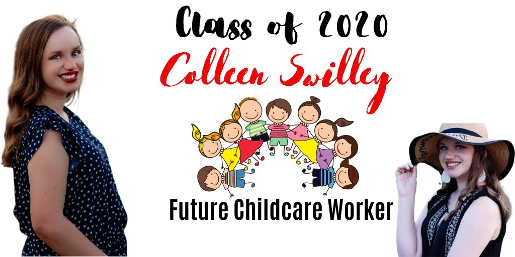 """""""Follow your passion, be prepared to work hard and sacrifice, and, above all, don't let anyone limit your dreams.""""  Congratulations Colleen   #childcare #2020 #senior pic.twitter.com/sgj53zbakK"""