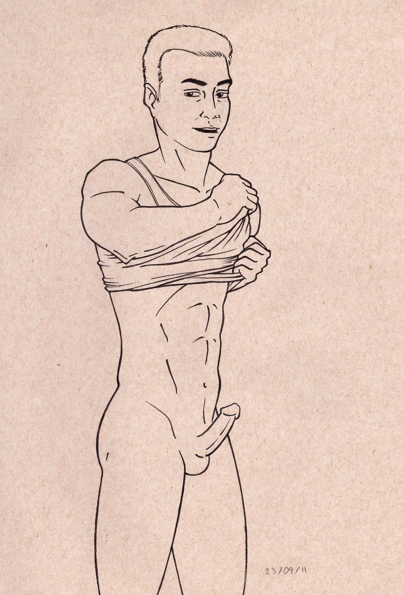 [R-18] Untitled #sexyman #sketch #trace #tracing #pen #bulge #handsome #pencil #poser https://t.co/Xa7YBs91Bx https://t.co/p8B4VtOK1A