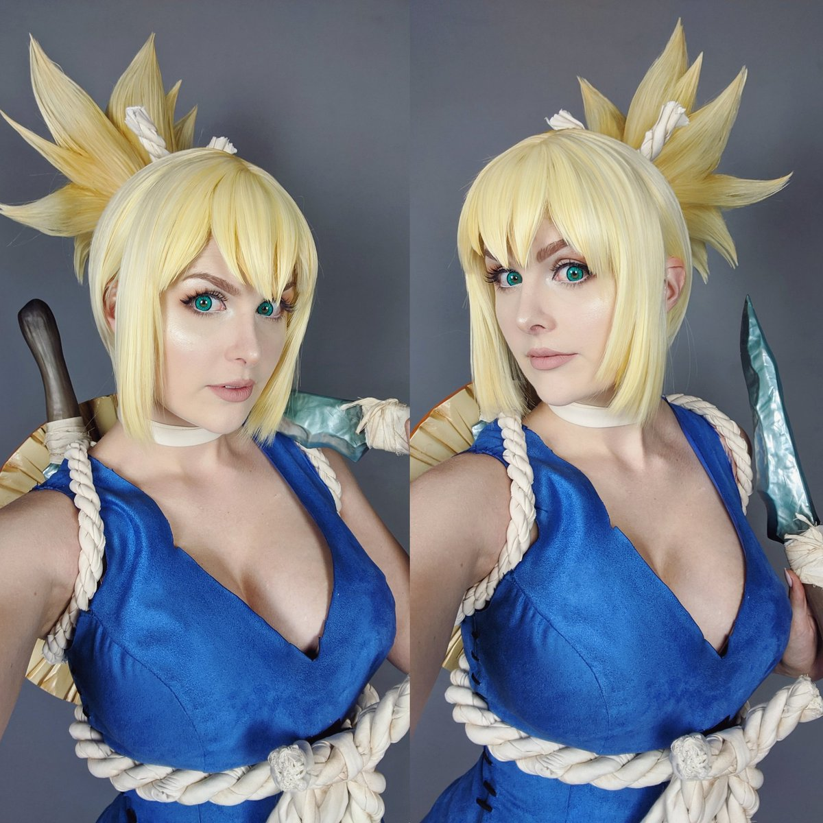 Kinpatsu Cosplay On Twitter Kohaku From Dr Stone Today We Did Some Photos For This Costume Finally We Can T Wait To Share The Final Results With You Guys The Kohaku Tutorial