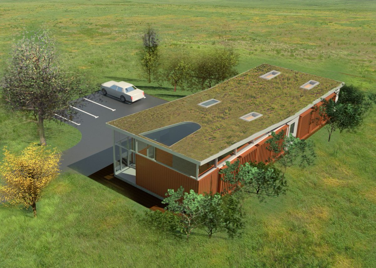 Eco Office #3Dmodel #shapearchitecture