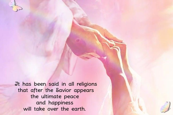 It has been said in all religions that after the saviour return, the ultimate peace and happiness and justice will take over the world.  #ThePromisedSaviourpic.twitter.com/dSome1tIB2