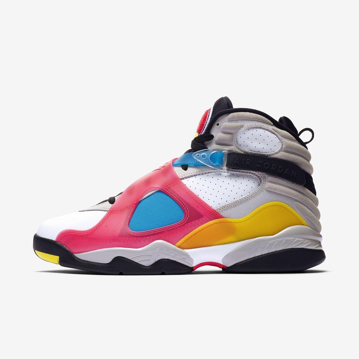 """ENDS TONIGHT: Jordan 8 Retro SE """"Multi-color"""" $91.48 on @nikestore with code LOGIN25 Link -> go.j23app.com/dj9"""