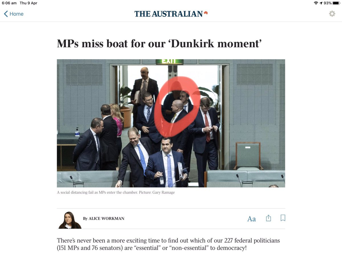 Political maverick MP who happens to be an ex policeman thinks he doesn't have to obey the #socialdistancing rule Politicians thinking they are special Maybe Gympie Snr Sg Davey can give Llew a warning. @workmanalice @QldPolice @MarkBaileyMP  @gympie_timespic.twitter.com/YXwdksEGX4