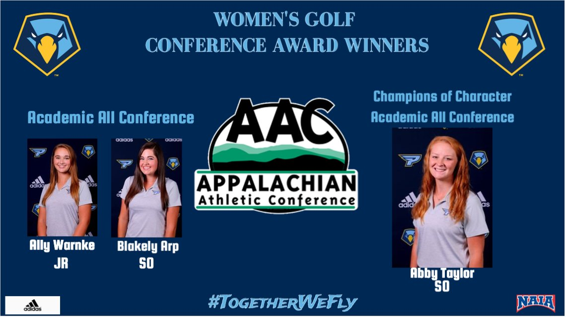 Congratulations to the Women's Golf Team on their @AACsports Conference Awards for the Spring of 2020! #TogetherWeFly <br>http://pic.twitter.com/xEQx3bxuax