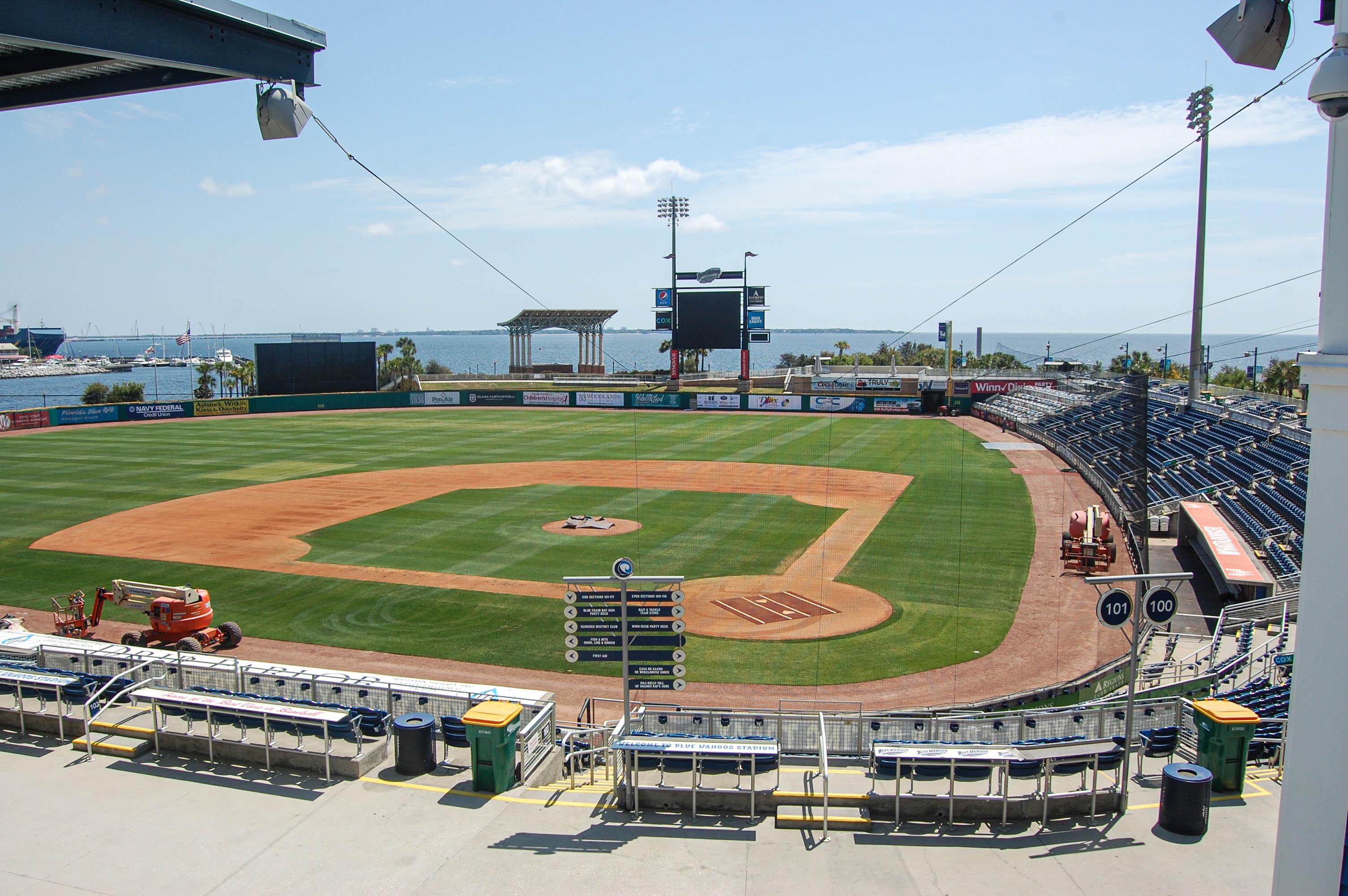 Estadio de béisbol en renta AirBnB