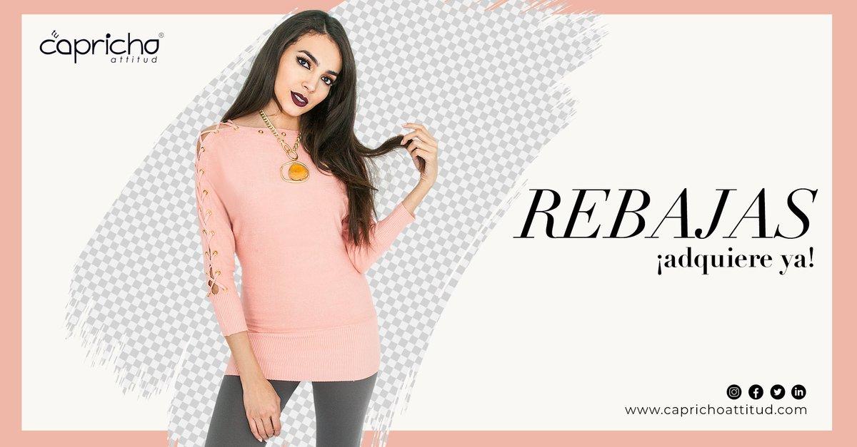 ¡Capricho tiene #rebajas! Asiste a nuestras sucursales durante esta semana y aprovecha los increíbles precios.  #YoSoyCapricho #Moda #Trendy #Girls #Fashion