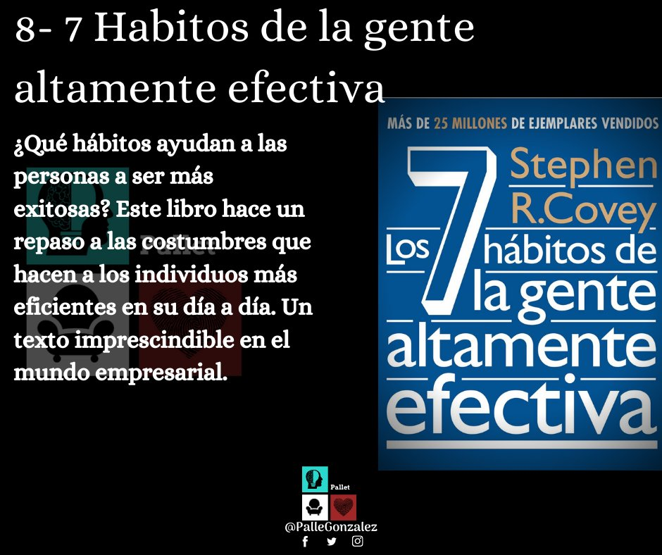 Palle Gonzalez On Twitter Los 7 Habitos De La Gente Altamente Efectiva Pdf Https T Co J9s2mrx7dr
