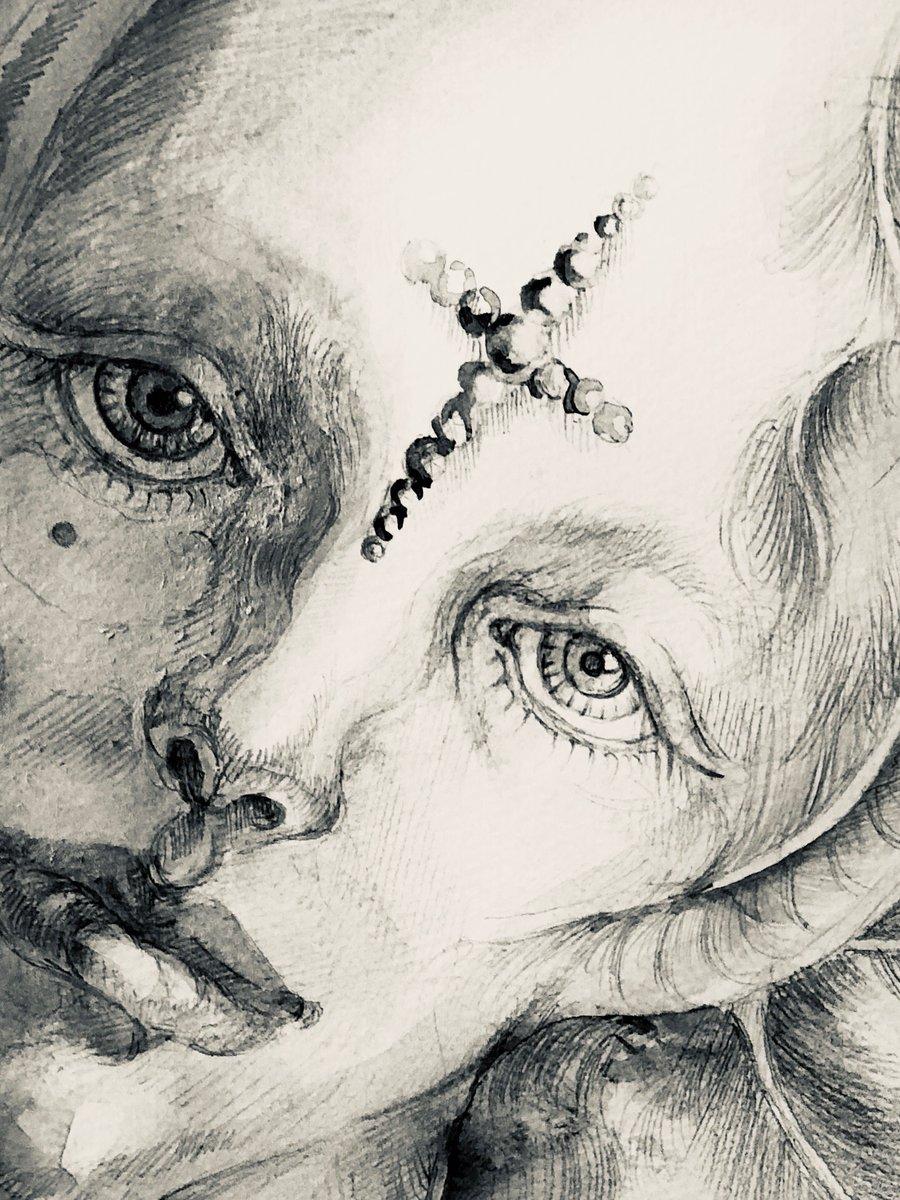 #らくがき #落書きアート #イラストグラム  #アート #イラスト #現代アート #drawingart  #artist  #draw #drawing #drawings #art #illustration  #illustrator #クロッキー #絵画 #線画 #天使 #artcollector #artgallery #artwork #artistic #顔 #真実を知りたい