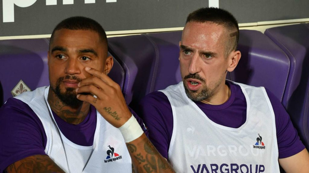 VIDEO: Kevin-Prince Boateng wishes friend for life Franck Ribéry a happy birthday