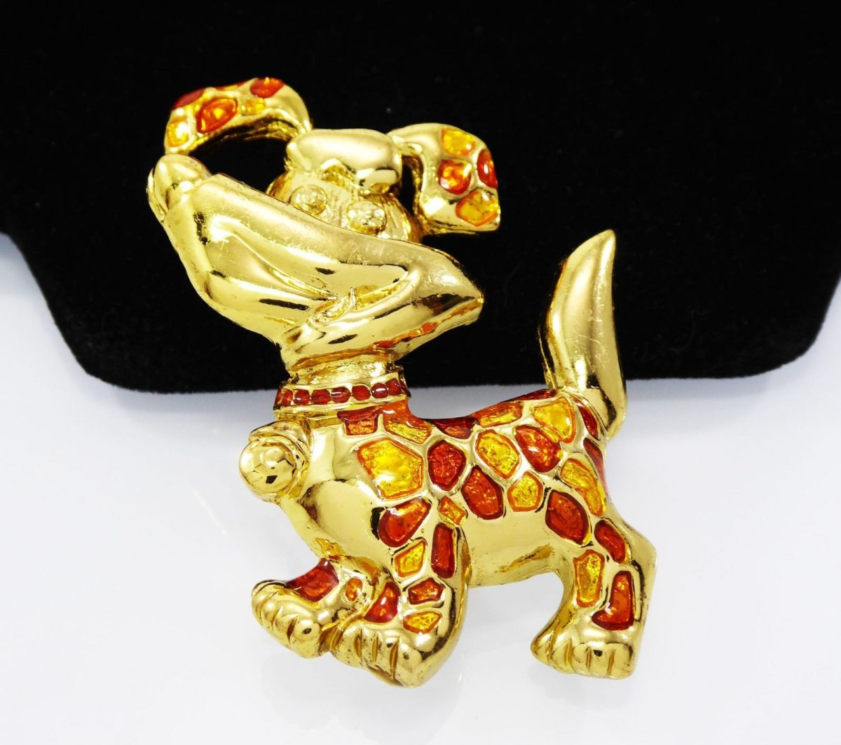 Just Listed!!!  Just Listed Happy Puppy Dog Brooch, Polkadots Terrier Pin, Rust & Gold Tone Enamel, Orange Rhinestones Collar, Vintage 1980s 1990s, Canine Jewelry: Happy Puppy Dog Brooch, Polkadots Terrier Pin, Rust & Gold Tone… http://dlvr.it/RTQ67H Shop Now  Shop Now!!!pic.twitter.com/SPYnNiDcK5
