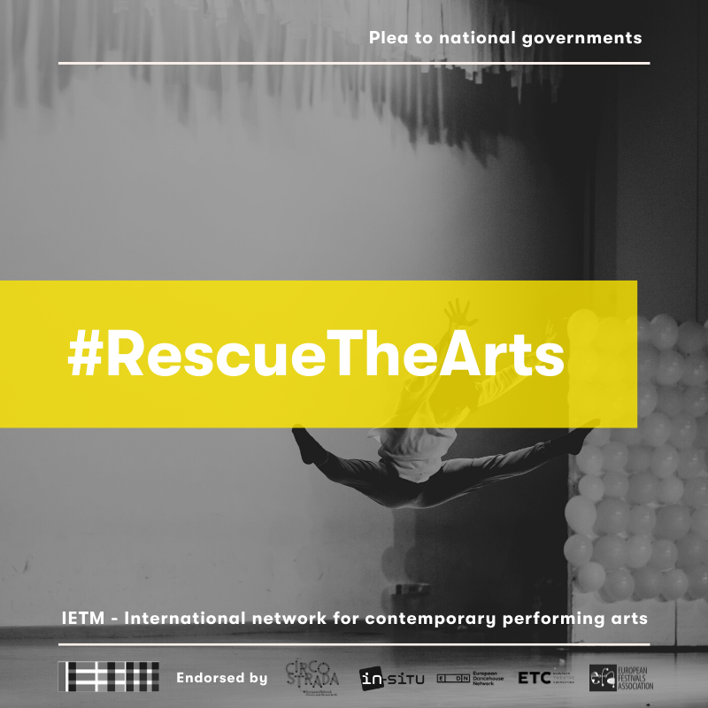 At the heart of the COVID-19 crisis, our #RescueTheArts campaign builds on our recent Plea to governments in which we call on the national governments to take measures aiming to preserve the long-term viability of the cultural sector. Spread the word: https://t.co/XK4O68cAM6 https://t.co/DXlKNAHSZy