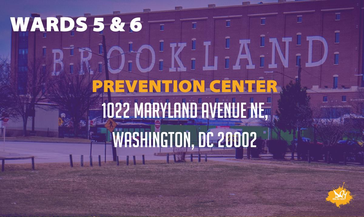 Our DCPCs are dedicated to helping you find the resources you need to keep your community drug-free. The DC Prevention Center for Wards 5 & 6 is @DCPCWards5and6. Follow them to know what's happening near you.