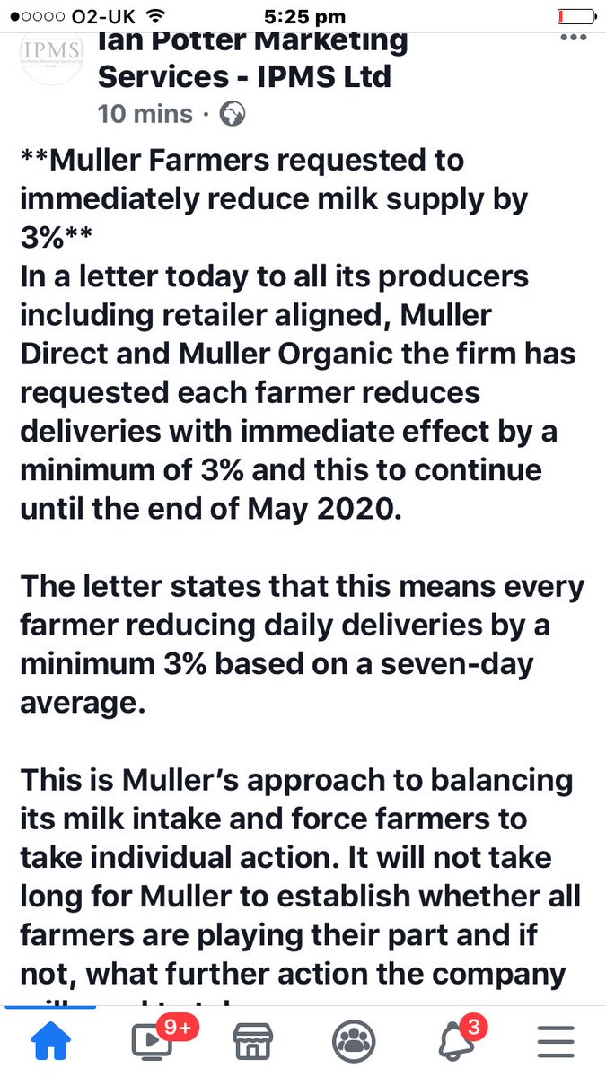 #teamdairy #https://www.facebook.com/112735830193142/posts/172829120850479?d=n&sfns=mo. #milk #Production  must be reduced now ! pic.twitter.com/9RnFwLg8Wr
