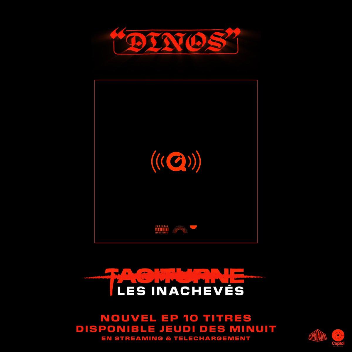 "Dinos on Twitter: ""« Taciturne, les inachevés » Nouvel EP demain ..."