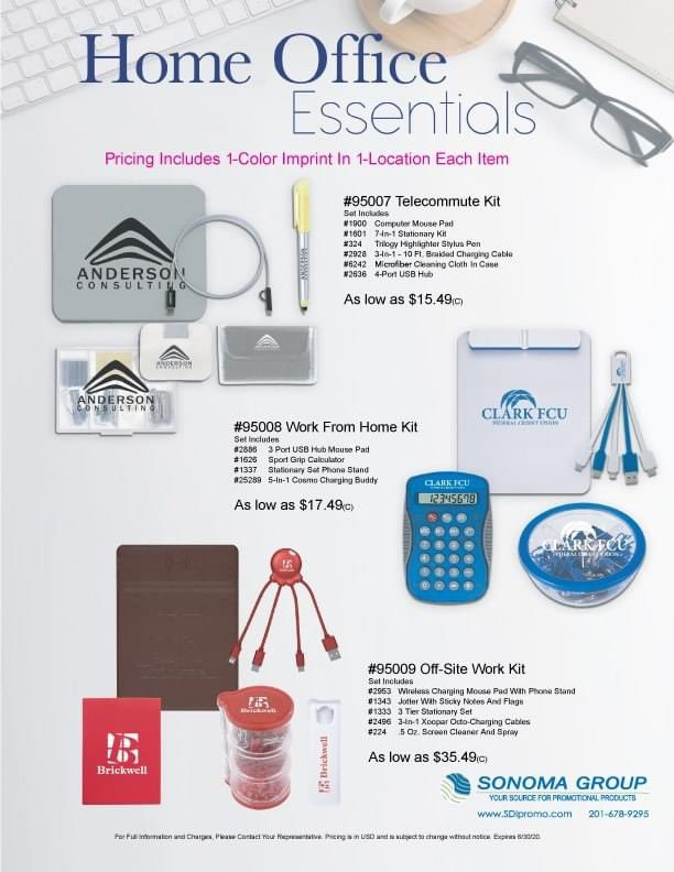 Are you looking for something to send to your #staff and/or your #clients who are working from home?  I have ideas for all budgets. #wfh #wfhlife #wfhswag #swag #homeoffice #promo #promotionalproducts