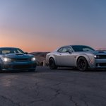 Image for the Tweet beginning: PRESS RELEASE:   @Dodge muscle cars