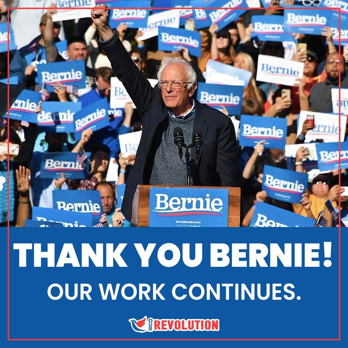 @OurRevolution's photo on #thankyoubernie