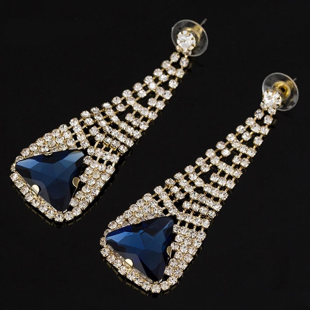 FABUNA - Elegant Fashion Cristal Earrings -    #jewelrybox #jewelrystore #jewelryjunkie #jewelrylovers #jewelrysale